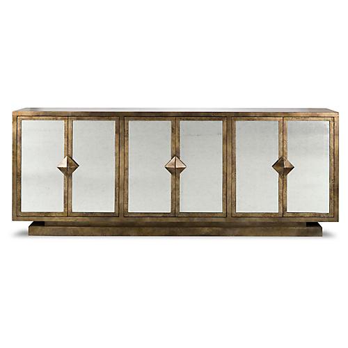 Harlow Sideboard, Gold