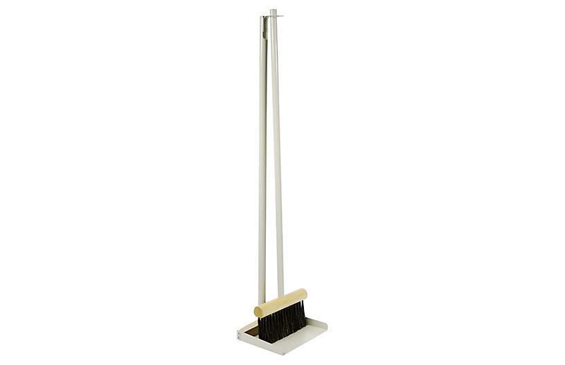 2-Pc Hali Dustpan Set, Gray