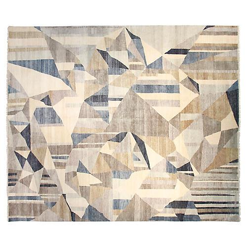 9'x12' Sari Graphic Rug, Dove