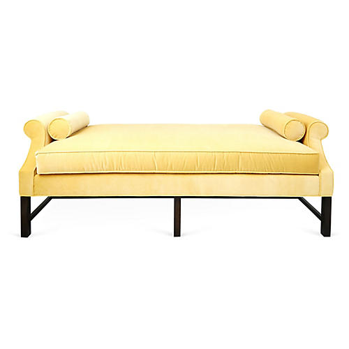 Anne Daybed, Key Lime Velvet