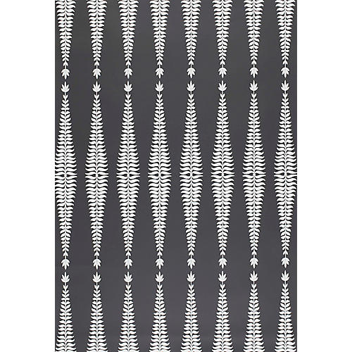 Fern Tree Wallpaper, Graphite