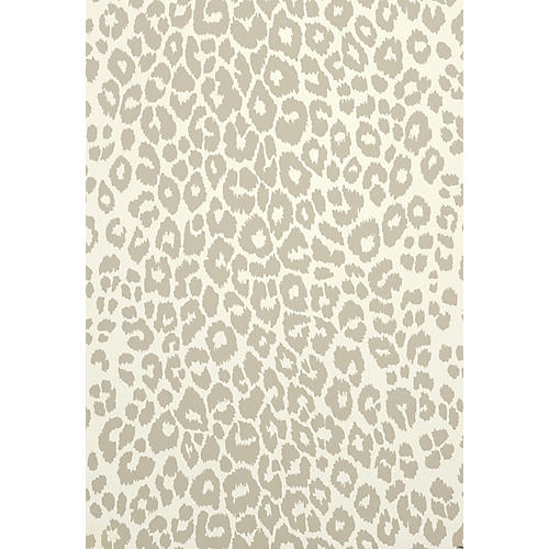 Iconic Leopard Wallpaper, Cream