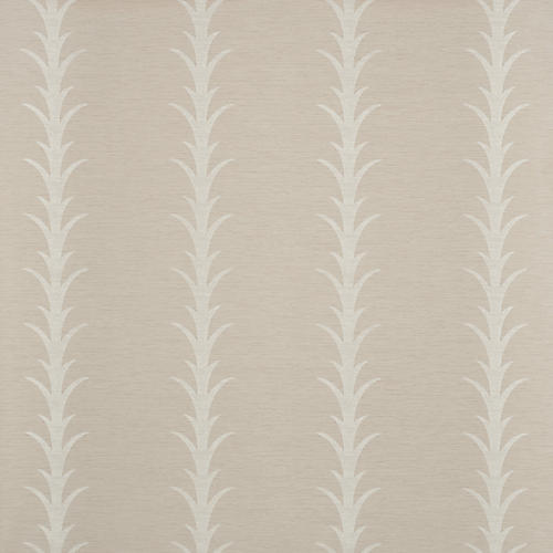 Acanthus Stripe Vinyl Wallpaper, Taupe