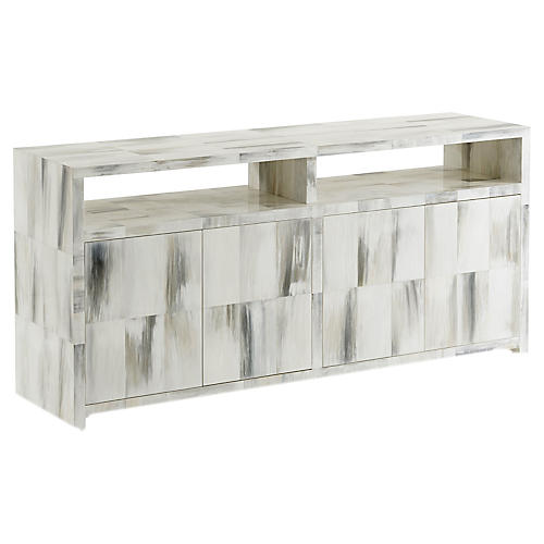 Quadrilateral Sideboard, Ivory