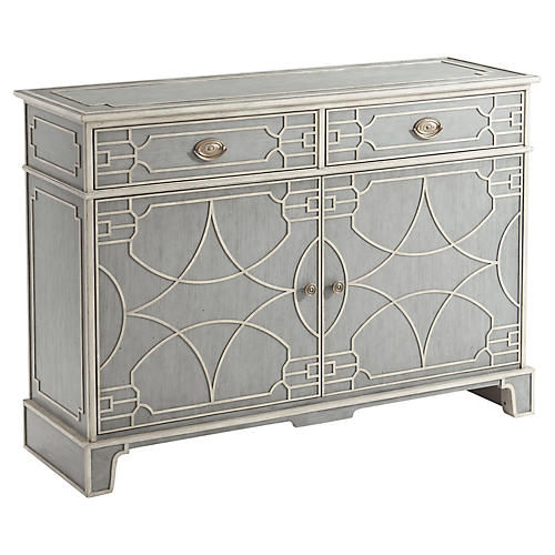 Morning Room Cabinet, Gray Limestone