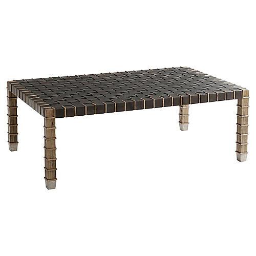 Marston Coffee Table, Toffee/Echo Oak
