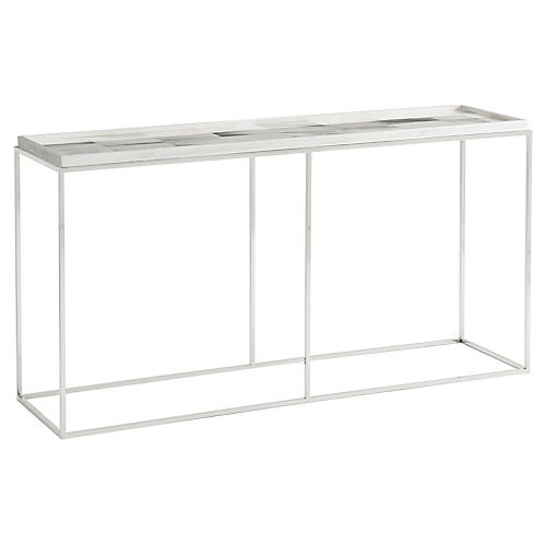 Quadrilateral Console, Ivory