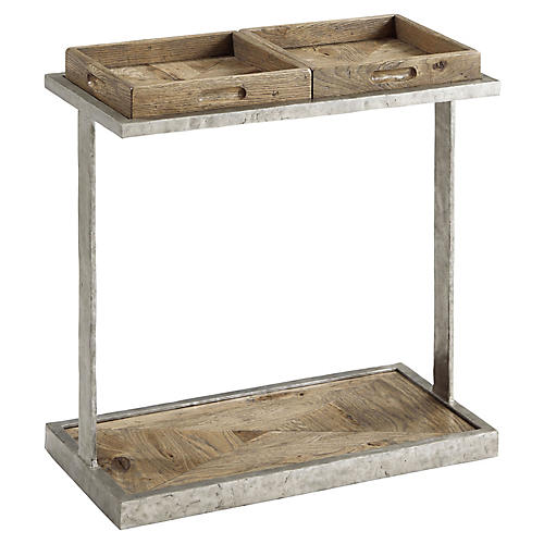 Rawlins Side Table, Echo Oak