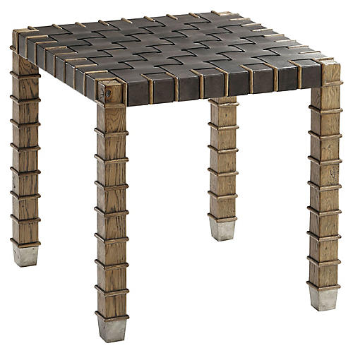 Gatehouse Side Table, Echo Oak