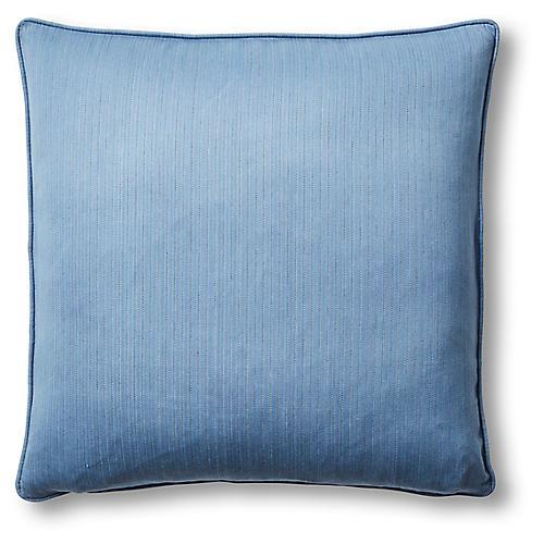 Savannah 22x22 Pillow, Blue
