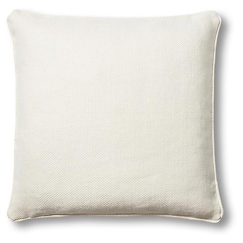 Aiken 22x22 Pillow, Oyster Linen