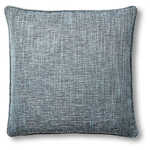 Otis 22x22 Pillow, Blue