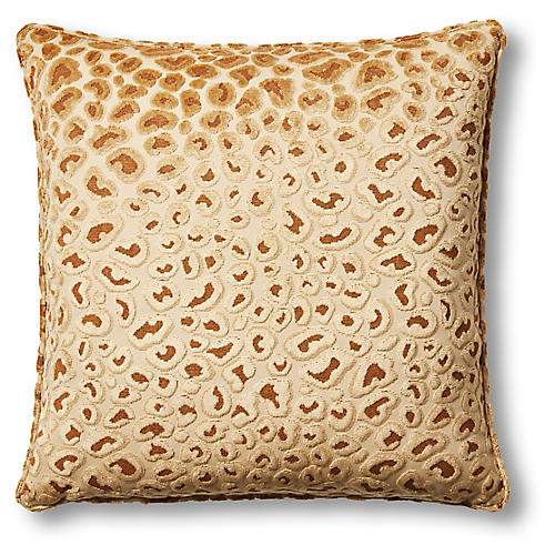 Clara 22x22 Pillow, Gold