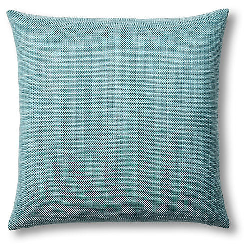 Piazza 22x22 Pillow, Teal