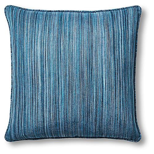 Kira 22x22 Pillow, Indigo