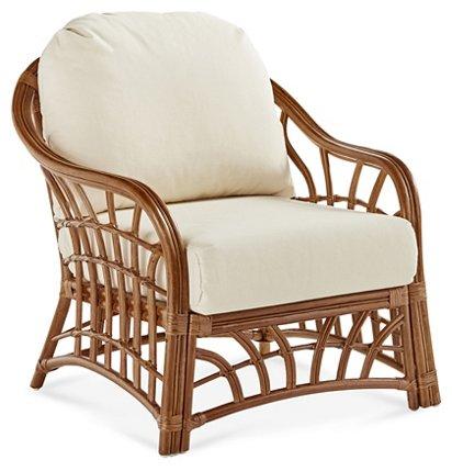 Kauai Rattan Club Chair