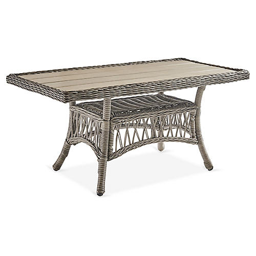 Westbay Coffee Table, Slate Gray