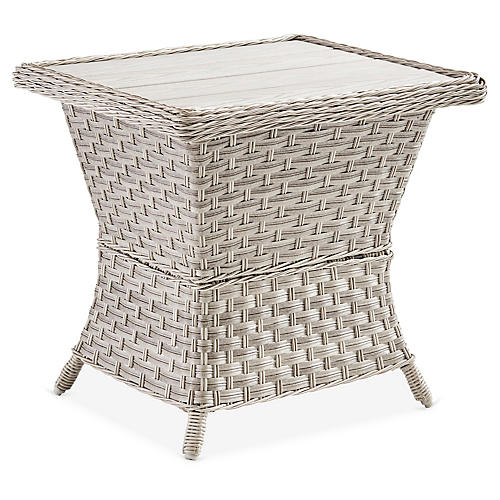 Mayfair Side Table, Gray