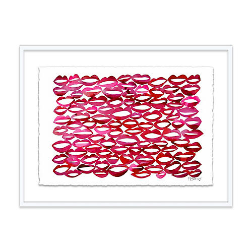 Kate Roebuck, Juicy Lips Geometric