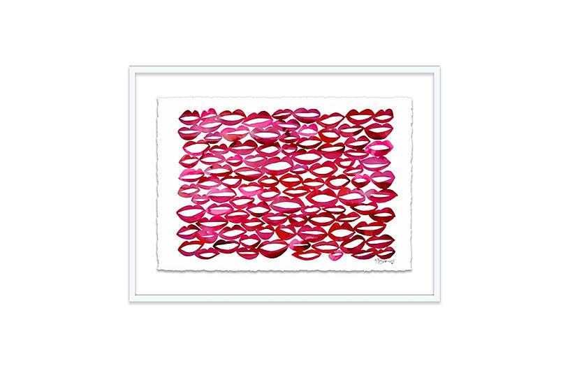 Kate Roebuck, Juicy Lips Geometric