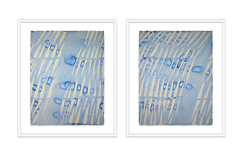 Kate Roebuck, Shadow I & II Diptych