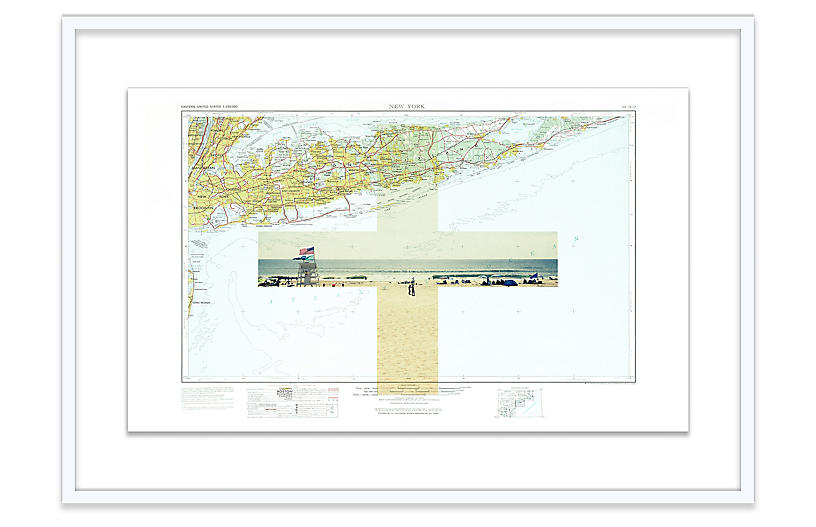 Christine Flynn, Montauk Map