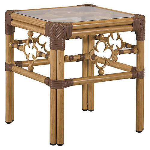 Mimi Side Table, Natural/Cappuccino