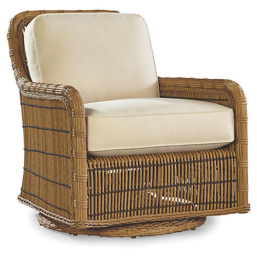 Rafter Swivel Glider, Canvas Sunbrella