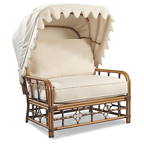 Mimi Cuddle Chair & Canopy, Canvas Sunbrella