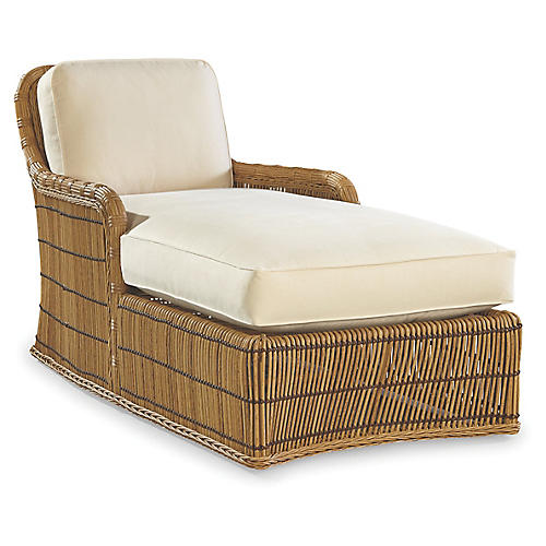 Rafter Chaise, Canvas Sunbrella
