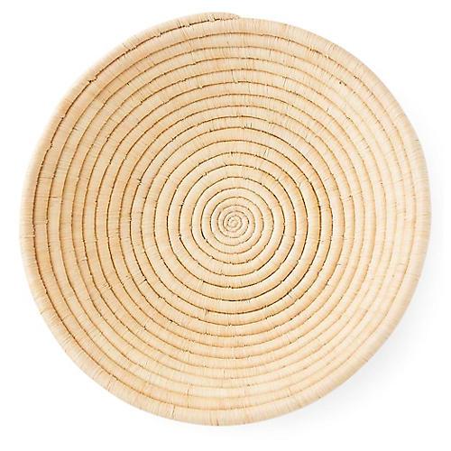 "18"" Agogo Platter, Natural"