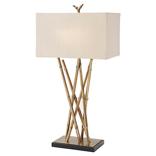 Coastal Table Lamp, Brass