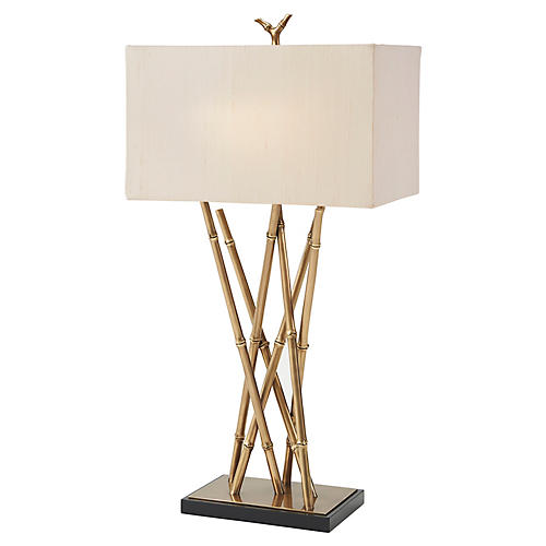 Coastal Table Lamp, Brass