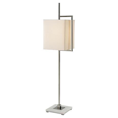 Diversion IV Floor Lamp, White