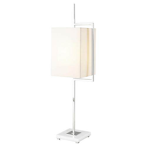 Diversion II Table Lamp, White