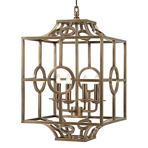 Holbeck Lantern, Brass