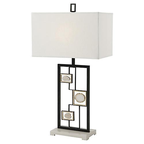 Polish I Table Lamp, Black