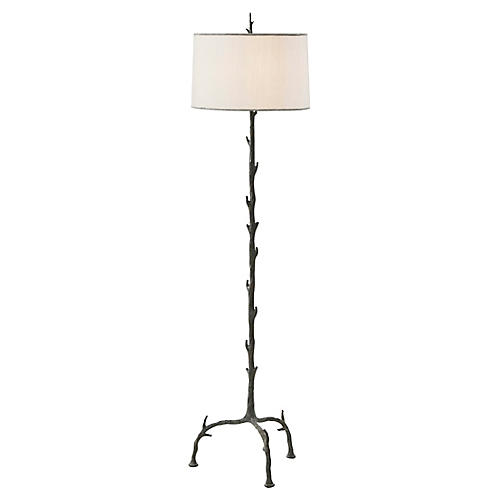 Toward the Light Floor Lamp, Verdigris