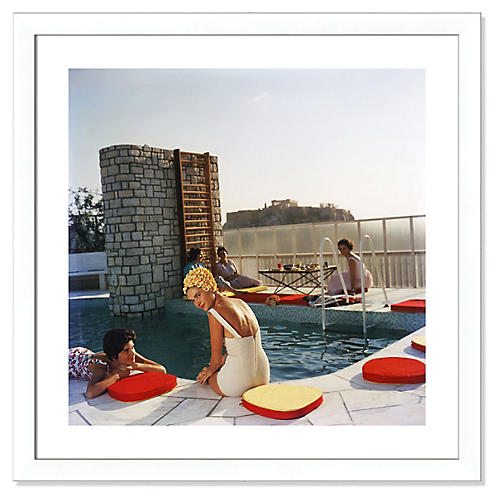 Slim Aarons, Penthouse Pool