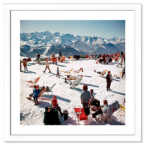 Slim Aarons, Verbier Vacation