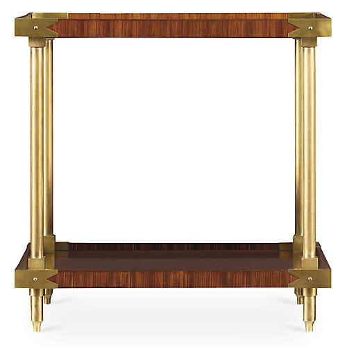 William Side Table, Rosewood