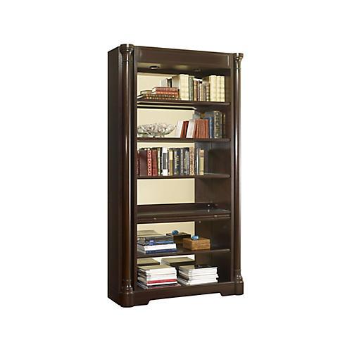 Bibliothe'que Bookcase, Dark Nutmeg