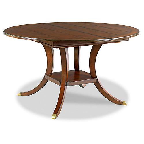 Keenan Dining Table, Chestnut