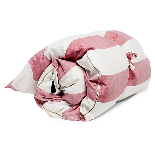 Harbour Island Throw Bed, Blush