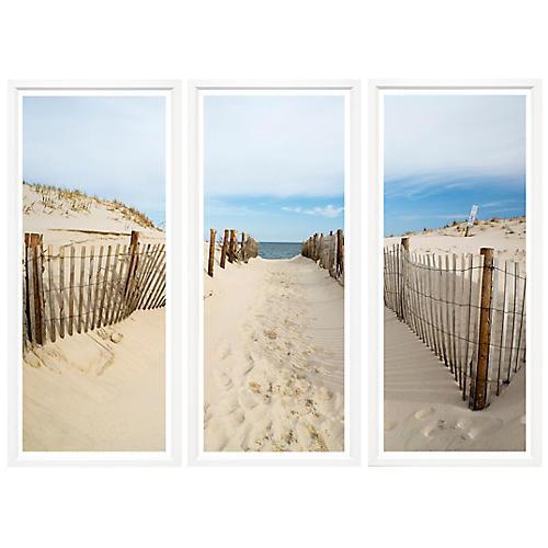 Sandy Path Triptych