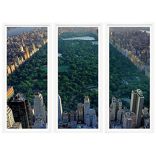 , Central Park Triptych