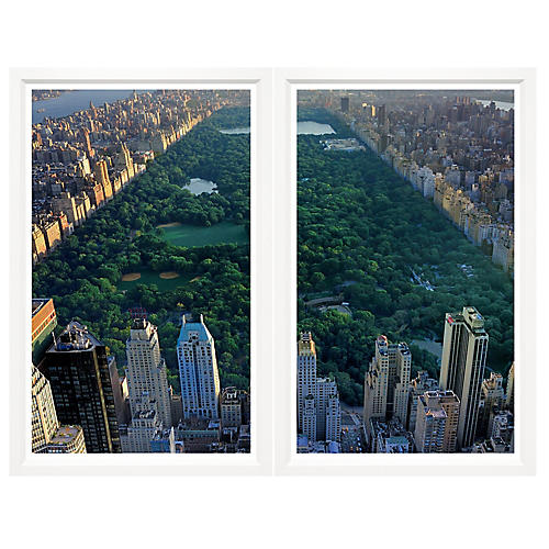 Central Park Diptych