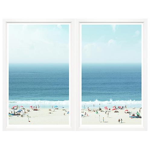 , New Coastal Diptych 4