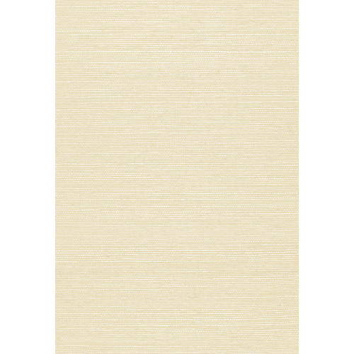 Haruki Sisal Wallpaper, Ivory