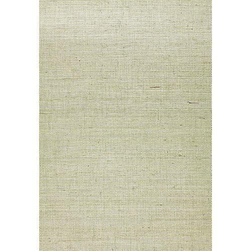 Suwon Sisal Wallpaper, Aqua